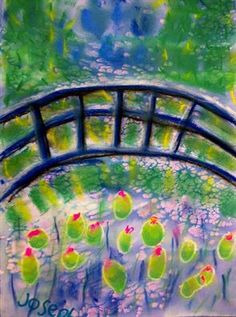 Check out student artwork posted to Artsonia from the Claude Monet's Japanese Bridge project gallery at Cathedral School. Cathedral School, 3rd Grade Art, Kindergarten Art, Art Lesson Plans, Art Classroom, Art Studies, Claude Monet, Art Portfolio, Art Club