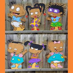 35 Best Hand-PAINTed RUGRATS Poster Board Cutouts images in