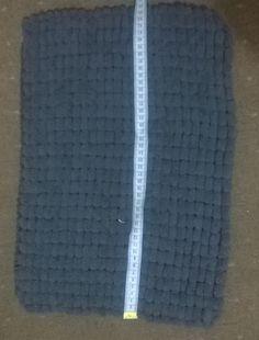 baby blanket handknit, washable pompom yarn pram, unisex, Polyester, Grey, Rico