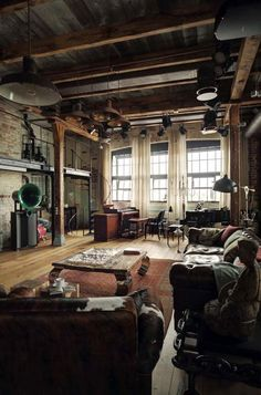 30 Beautiful Warehouse Loft Conversions The term Loft is gen