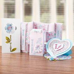 Members Exclusive Gift - Tattered Lace With Love and Best Wishes Die Set (339772)   Create and Craft