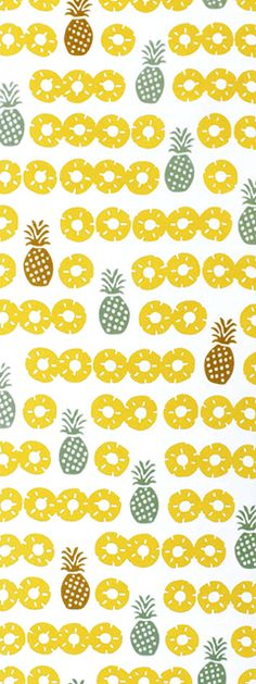 cute pineapple print