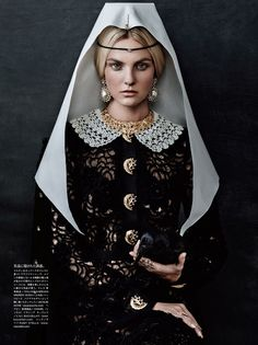 Caroline Trentini for Vogue Japan by Giampaolo Sgura
