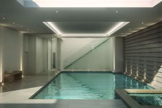 Basement Swimming Pool   Artist impression of a basement swimming pool