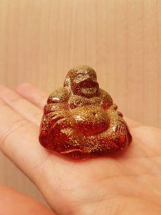 Buddha aus Harz gegossen Resine with LOVE