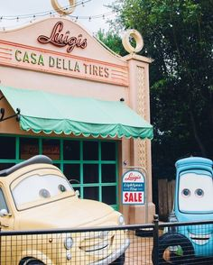 """282 Likes, 4 Comments - Pixie Darlings (@pixiedarlings) on Instagram: """"Happy 5th year anniversary to Cars Land!! We are SO excited to see Cars 3 and celebrate these…"""""""