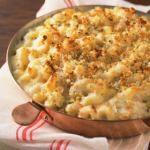 Yum....baked macaroni and cheese