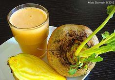 Yellow Beet and Pineapple Juice