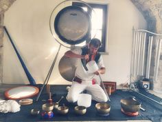 Sound Therapy for #SpiritualSensoryExperience at #Eremito www.daianalorenza... #digitaldetox #yogaretreat