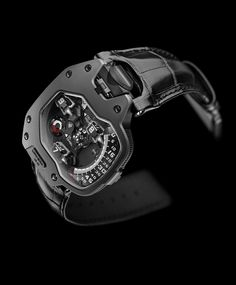 Urwerk UR-110 Torpedo in black