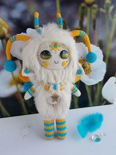 Melody of Moonlight — Space Fluffy ^_^ Crochet Fairy, Crochet Dragon, Cute Crochet, Felt Dolls, Plush Dolls, Doll Toys, Crochet Gifts, Crochet Toys, Doll Patterns