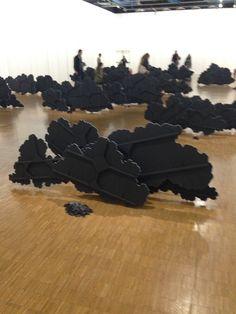 """Latifa Echakhch """"Air du temps"""" au Centre Pompidou"""