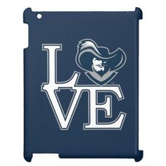 Xavier University Love Case For The iPad - tap, personalize, buy right now! Xavier University, Catholic University, Musketeers, Custom Art, Cincinnati, Ipad, Love, Amor, Romances