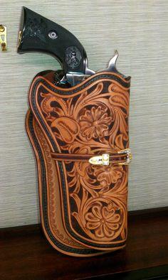 Custom Hand Tooled Leather