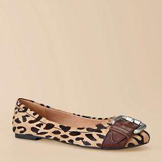 Maddox Leopard Flats
