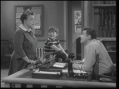 The Andy Griffith Show: Season 1, Episode 30 Barney Gets His Man (8 May 1961) Frances Bavier, Ron Howard, Andy Griffith