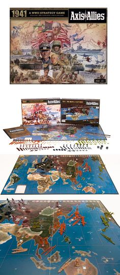 Axis and Allies 158731: Axis And Allies Spring 1942 Avalon Hill