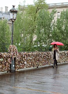 Love Locks Bridge, Paris