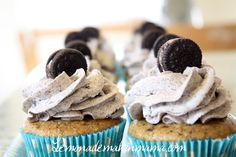 Can someone go ahead and make these for me? please? oreo cupcake