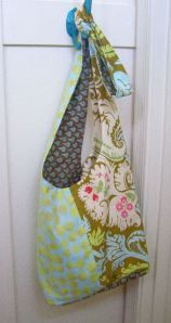 Boho Sling Bag tutorial and pattern