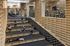 Musashino Art University Museum and Library in Tokyo http://flavorwire.com/386005/the-most-playful-libraries-in-the-world/11