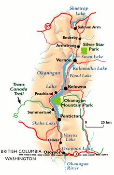 Okanagan Valley Maps - Maps of Kelowna, Penticton, Osoyoos, Wineries, Ski Resorts and more. Things To Do In Kelowna, West Coast Canada, Canada Travel, Canada Trip, Canada Eh, Fish Tales, British Columbia, Staycation, Cheese