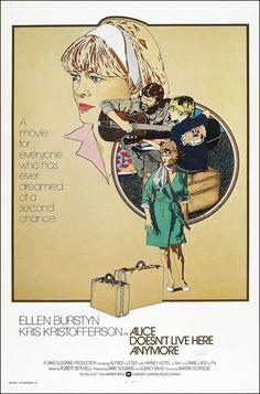 Alice Doesn't Live Here Anymore (1974) starring Ellen Burnstyn & Kris Kristofferson