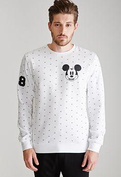 Mickey Mouse Graphic Sweatshirt | 21 MEN - 2000117411
