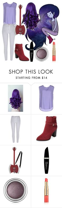 """Marceline from adventure time"" by biajacksonwinchester ❤ liked on Polyvore featuring Ultimate, ..,MERCI, River Island, Catherine Malandrino, Max Factor, Christian Dior and Estée Lauder"
