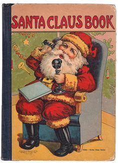 Santa Claus Book 1910's