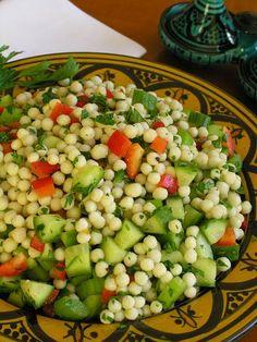 Maroque's giant couscous salad (a Maroque recipe) - Maroque