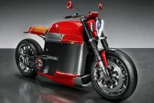 Tesla model m concept electric motorcycle bike hd wallpaper