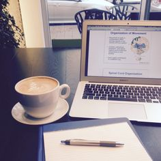 something-brighter: Getting ready to begin my study session at my favorite cafe! Wish me luck… I'm gonna need it