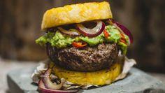 Hamburger mit Ananas - Paleo360.de