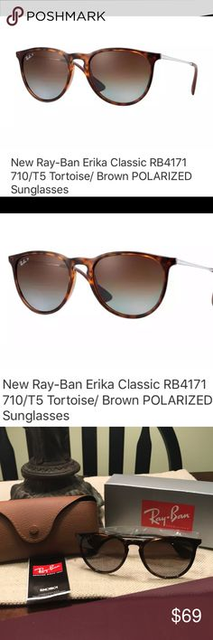 ef27542c3db6 Ray-Ban 4171 Erika 710 T5 Sunglasses Polarized Sunglasses are store  displays that were