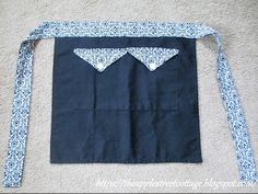 The Apple Street Cottage: Upcycled Apron