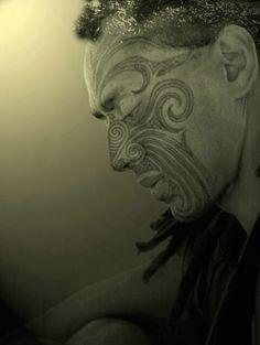Maori from New Zealand Maori Face Tattoo, Ta Moko Tattoo, Samoan Tattoo, Maori Tattoos, Face Tattoos, We Are The World, People Of The World, Maori Tribe, Zealand Tattoo