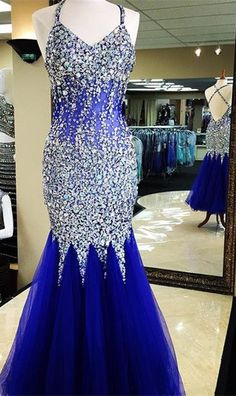 New Luxury beads Sexy Prom Dresses,Glitter Prom Gowns,Elegant