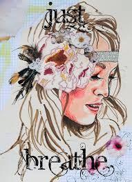 ON SALE 11 x 14 bohemian paper print boho hippie fashion illustration gypsy mixed media from Jenndalyn Art. Hippie Love, Hippie Art, Hippie Gypsy, Hippie Style, Hippie Chick, Gypsy Soul, Hippie Trippy, Bohemian Style, Bohemian Girls