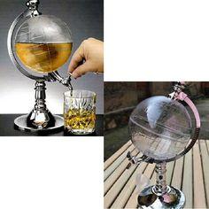 Globe Shaped Beverage Liquor Dispenser Drink Wine Beer Pump - Roys Discount -  - Barware -