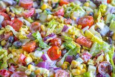Cowboy Salad – 12 Tomatoes
