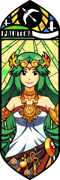 Smash Bros - Palutena by Quas-quas.deviantart.com on @deviantART