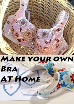 Stop spending money on expensive Bra's ! With minimal knowledge in sewing you can DIY easy at home - easy method