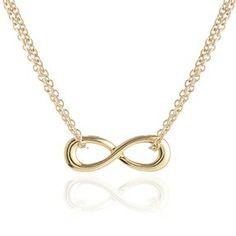 Adina Reyter Tiny Infinity Necklace on shopstyle.com