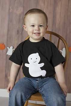 Ghost Appliqué T Shirt  Youth and Teen Sizes by PinkPosieCouture, $18.00