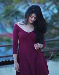 An innocent smile South Indian Actress, Beautiful Indian Actress, Beautiful Actresses, Bollywood Fashion, Bollywood Actress, Beautiful Girl Image, Beautiful Women, Amazing Women, Girl Photo Poses