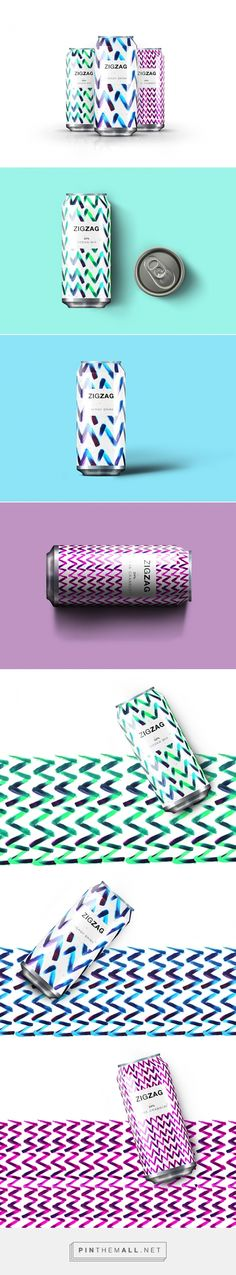 Zigzag energy drink by Jawad Qumsieh (unused) . Pin curated by #SFields99 #packaging #design