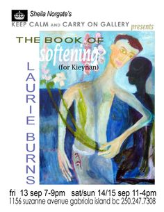 The book of softening ~ #LaurieBurns