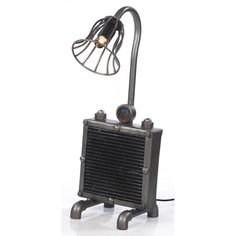 lights made out of car parts Man Cave Lighting, Shop Lighting, Urban Industrial, Industrial Lighting, Car Radiator, Old Vintage Cars, Furniture Assembly, Radiators, Car Parts