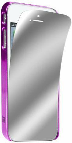 Carcasa Cromo para iPhone 5/5S con protector de pantalla de efecto espejo de SBS, http://www.amazon.es/dp/B00BRIPH20/ref=cm_sw_r_pi_dp_u4Zbtb0JPVYZ5